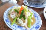 三芝の清炒花枝(イカの塩炒め)