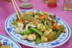 炒三鮮(海鮮3種炒め)