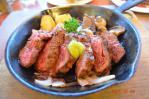 台湾Skylarkの和風醤油厚切りステーキ