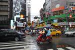 雨の基隆夜市