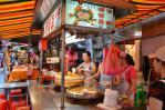 基隆夜市の螃蟹羹屋台