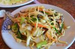 清境の什錦炒麺