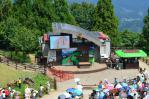 清境青青草原の羊ショーステージ