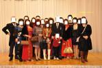 顧客社長、専務と台湾組勢ぞろいで記念撮影