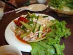 ベトナム風イカサラダ