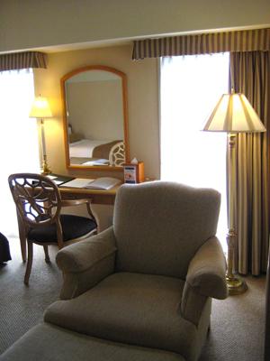 アグネスホテル室内