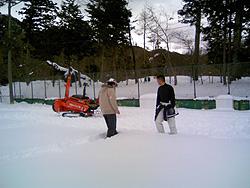 雪合戦コート作り