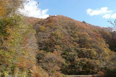 大北渓谷の紅葉