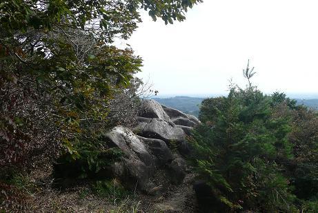 石倉からの眺望