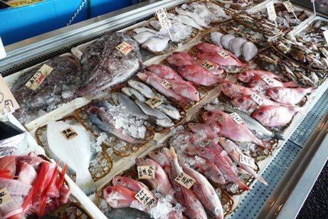 新鮮で格安な海産物
