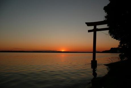 絶景の夕焼け