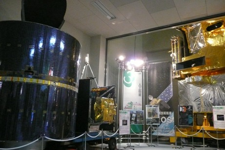 さまざまな人工衛星