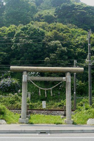 塩籠神社の鳥居