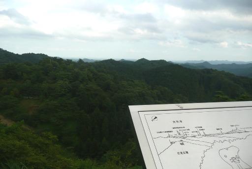 「海の見える丘」展望台からの眺望