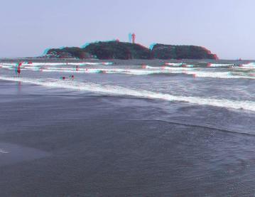 江ノ島を入れないとどこの海か分からない