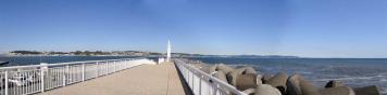 灯台側からのパノラマ