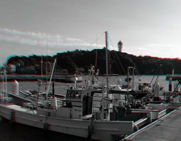 アナグリフ 漁船と