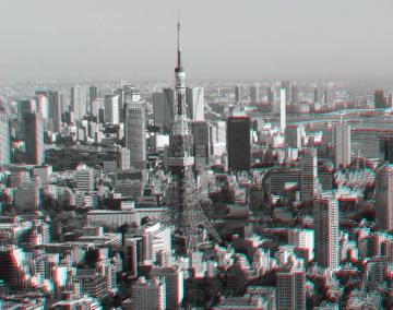アナグリフ 東京タワー