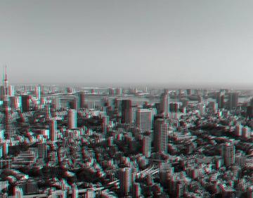 アナグリフ 東京タワーとお台場