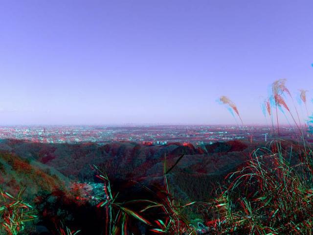アナグリフ 休憩所からの眺望