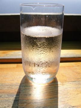 水がありがたい