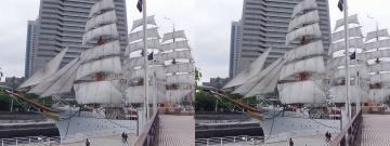 日本丸の帆