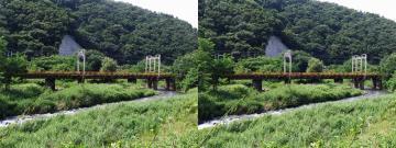 鉄橋が多くなる地域