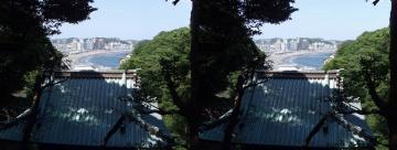 江の島駅方向