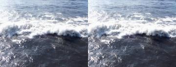 波を上から