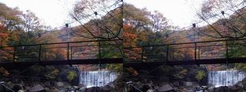 吊り橋と滝 2