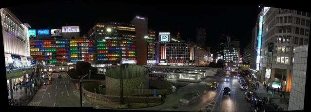 西新宿ロータリー