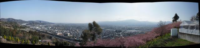 松田山からのパノラマ写真