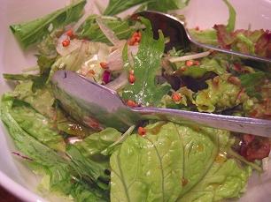 ふたつき@蕎麦の実サラダ