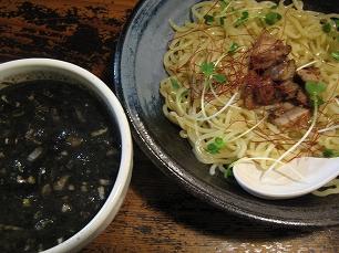鶏の穴@黒つけ麺