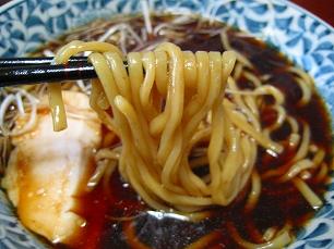 大豆家@冷し醤油麺