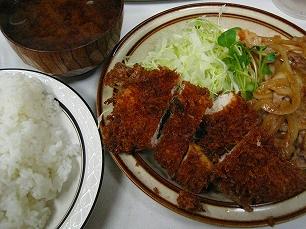 キッチン南海@チキンカツ生姜焼き