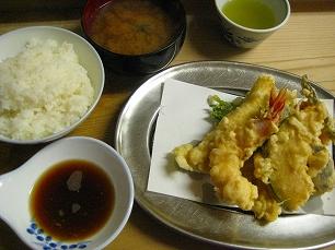 いもや@天ぷら定食
