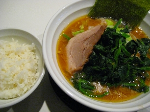 麺家KAZU@ほうれん草