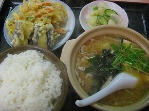まんぷく食堂@豚汁定食