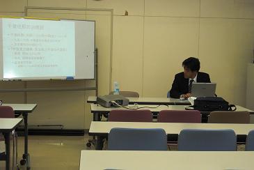 準備をする多田講師