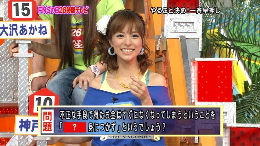 玩具箱「FNSの日26時間テレビ2009超笑顔パレード」の神戸蘭子さんトラックバックURL