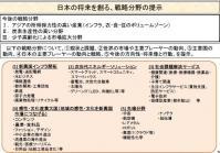 日本の将来を創る戦略分野