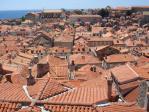 旧市街の屋根