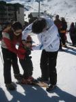初スキー!