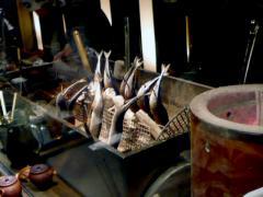 秋刀魚囲炉裏焼き