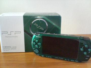 PSPこーにゅー♪