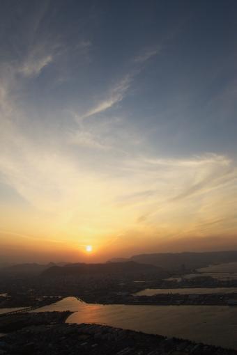 屋島の夕景'09.01.19-1