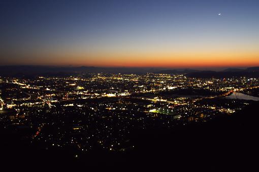 高松の夜景'09.01.28-1