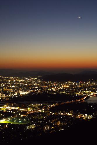高松の夜景'09.01.28-2