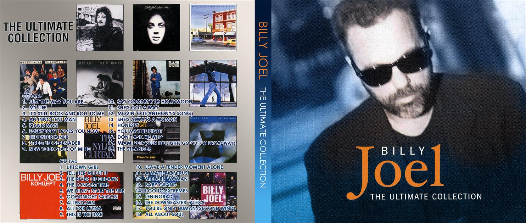 Billy Joel Ultimate Collection: Tanapapa 自作ラベル保管庫 BILLY JOEL ~ THE ULTIMATE COLLECTION